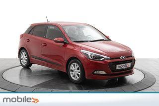 Hyundai i20 1,0 T-GDI Navigasjon, oppv.ratt, cruise, bluetooth  2016, 29600 km, kr 139000,-