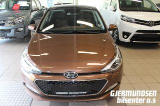 Hyundai i20 1.2  COMFORT  2015, 51498 km, kr 117696,-