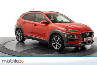 Hyundai Kona 1,0 T-GDI Teknikkpakke Skinn, navigasjon, DAB+  2018, 44380 km, kr 229000,-