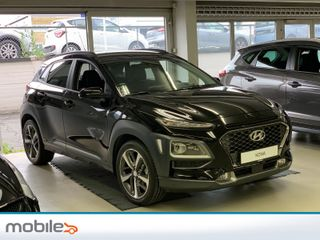 Hyundai Kona 1,0 120Hk T-GDI Teknikkpakke m/Skinn -Ny Bil!-Må Sees!  2018, 17 km, kr 258900,-