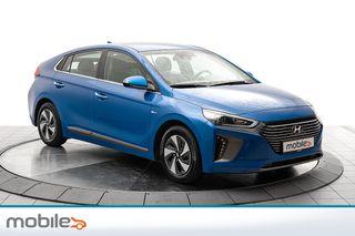 Hyundai Ioniq Teknikk Selvladene hybrid, navigasjon, skinn  2017, 49380 km, kr 209000,-