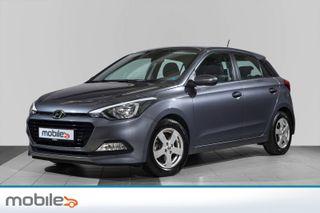 Hyundai i20 1,0 T-GDI Varme i ratt, Blåtann, alufelger.Mm  2016, 45000 km, kr 139900,-