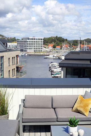 Nye, innflyttingsklare leiligheter på Sanden.