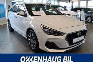 Hyundai i30 1.4 turbo I 30 plusspakke/automat/140 hk turbo  2019, 100 km, kr 309000,-