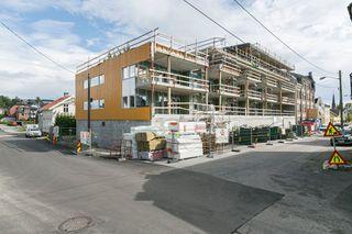 Skien - Fortuna Park- 18 flotte leiligheter med heis og garasjeplass i lukket anlegg. Kun to flotte leiligheter ledig!