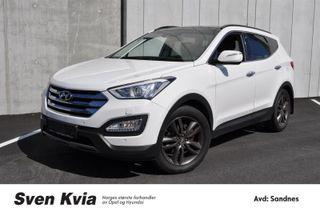Hyundai Santa Fe 2.0  Premium|Panoramatak|4x4|Skinn  2014, 132729 km, kr 269000,-