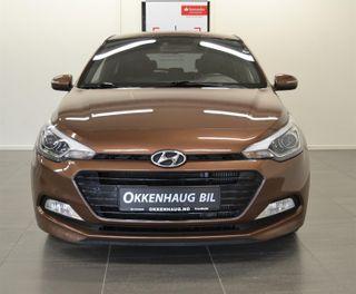 Hyundai i20 Navi, Ryggekamera, Eu og service før levering.  2015, 76500 km, kr 99000,-