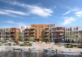 Bryggebyen - Urbant leilighetsprosjekt - Innflytting 2021 - Se ledige leiligheter her