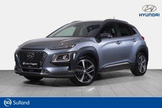 Hyundai Kona 1,0 T-GDI Teknikkpakke /Skinn/Toppmodell  2018, 28656 km, kr 249900,-