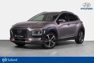 Hyundai Kona 1,0 T-GDI Teknikkpakke / Skinn/Toppmodell  2018, 18818 km, kr 249900,-