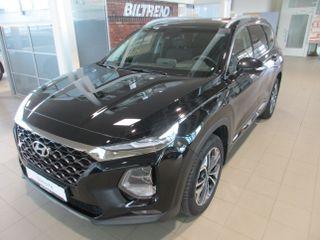 Hyundai Santa Fe 2,2 Crdi 200 Hk Aut 7s Panorama Hud Navi Skinn Krok ++  2019, 19000 km, kr 699000,-