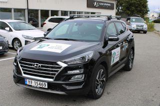 Hyundai Tucson 1.6  CRDI AUT - SKINN/PANORAMA - Artic race  2019, 5000 km, kr 498000,-