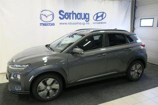 Hyundai Kona 64 KW Teknikk m/ skinn  2019, 100 km, kr 384900,-