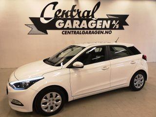 Hyundai i20 1.2  BENSIN/ LAV KM/ DAB+/ MULTIRATT/ NYBILGARANTI++  2015, 67465 km, kr 114900,-