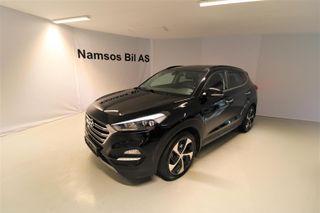 Hyundai Tucson 1,7 CRDI / Krok / Skinn / Plusspakke / Automat  2017, 42000 km, kr 329000,-