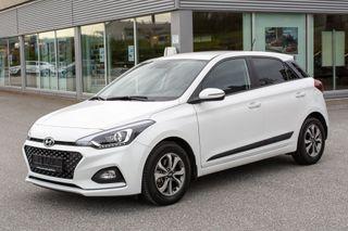 Hyundai i20 1,0 Turbo Bensin 100hk Teknikk Safety Pack Automat  2019, 6700 km, kr 209000,-
