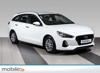 Hyundai i30 1,4 T-GDi Plusspakke aut Navigasjonsystem, ryggekamera.M  2018, 44764 km, kr 259900,-