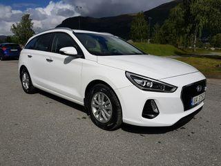 Hyundai i30 1,4 GDI - aut   plusspakke  2018, 7750 km, kr 299000,-