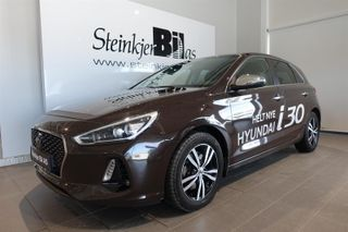 Hyundai i30 1.4  I 30 / TEKNIKKPAKKE / ADAPTIV CRUISE  2017, 40000 km, kr 249000,-