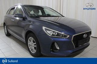 Hyundai i30 1,4 T-GDi Plusspakke aut , STV, Radio Dab+, Kamera,  2018, 46271 km, kr 238000,-