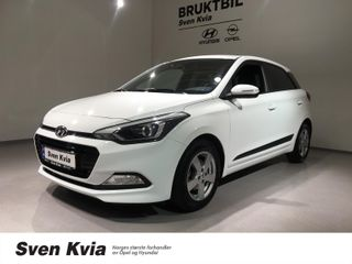 Hyundai i20 1.0 Turbo 101HK Jubileum, Navi, DAB+, Bluetooth  2018, 45205 km, kr 149000,-