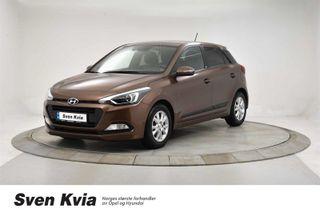 Hyundai i20 1.0 T GO! 101Hk Navi, Ryggekamra, DAB+  2016, 38900 km, kr 129000,-