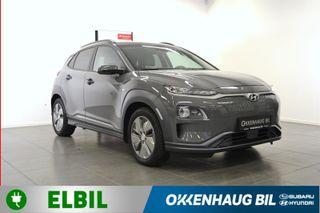 Hyundai Kona Teknikk/Hurtiglading/S+ V dekk/ DAB+  2019, 8000 km, kr 362800,-