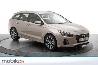 Hyundai i30 1,4 T-GDi Plusspakke aut Navigasjon, automatgir  2018, 33900 km, kr 239000,-