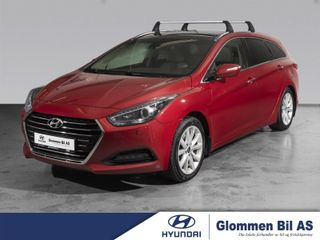 Hyundai i40 1.7 crdi Premium ALT UTSTYR, 1 EIER, komp. servicehefte  2016, 134000 km, kr 189000,-