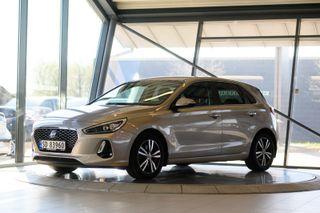 Hyundai i30 1,4 T-GDi Teknikkpakke aut 140hk topp utstyrt  2017, 32000 km, kr 239000,-