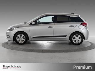 Hyundai i20 1,0 T-GDI Jubileum Navi - Ryggekamera - Dab+ -  2018, 45188 km, kr 144900,-