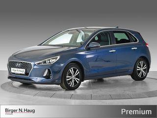 Hyundai i30 1,4 T-GDi Teknikkpakke aut DAB+ / Memory / NAV / RYGGEK  2018, 23256 km, kr 239900,-