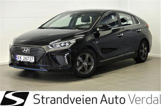 Hyundai Ioniq 1.6  Hyundai Plug In, 1.6 + Teknikkpakke + skinn Plug i  2017, 22600 km, kr 199000,-