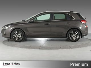 Hyundai i30 1,4 T-GDi Teknikkpakke aut TEKNIKK/DELSKINN/AUT/TURBO  2017, 32500 km, kr 229900,-