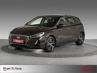 Hyundai i30 1,4 T-GDi Teknikkpakke aut Outlet/Aut/AdaptivCruise  2018, 42734 km, kr 209000,-