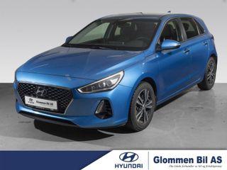 Hyundai i30 1.4  Turbo, TEKNIKKPAKKE, KUN 11600KM!  2017, 11600 km, kr 224900,-