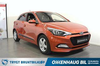 Hyundai i20 1.0  Ryggekamera / Lettkjørt / Varme i ratt / DAB+  2018, 43929 km, kr 149800,-