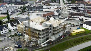 NÅ SOLGT 16 LEILIGHETER!   Strands eiendom -  Nye leiligheter i Lyngdal sentrum.