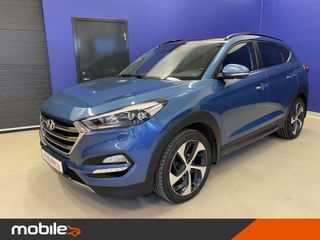 Hyundai Tucson 2,0 CRDi Panorama 4WD aut DAB+  2016, 71000 km, kr 299000,-