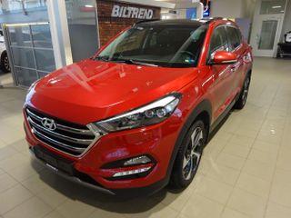 Hyundai Tucson 1,6 Turbo 177 Hk Aut 4x4 Panorama Skinn Navi Led Krok  2017, 57000 km, kr 335000,-
