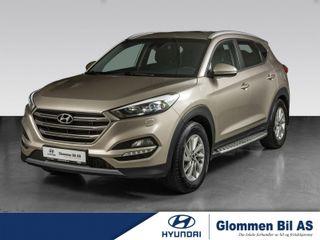 Hyundai Tucson 2.0 crdi Teknikkpakke/skinn, EL-bakluke ++  2018, 111000 km, kr 304900,-