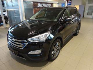 Hyundai Santa Fe 2,2 Crdi 197 Hk Aut Premium Panorama Skinn Navi 7 S  2013, 153000 km, kr 255000,-
