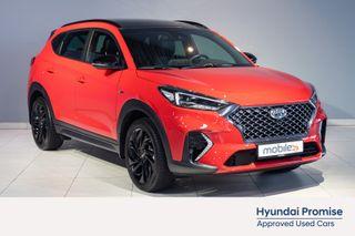 Hyundai Tucson 1,6 CRDi Teknikkpakke 4WD aut N-LINE, DEMOBIL,  2020, 10700 km, kr 479000,-