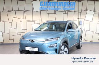 Hyundai Kona Premium m/Skinn. Vi spanderer første service! 64 kWh  2020, 6200 km, kr 409000,-