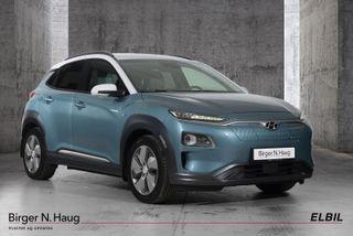 Hyundai Kona 64 kWt Teknikk - Knallgod rekkevidde!- Toppmodell-  2019, 44500 km, kr 334900,-