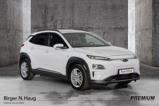 Hyundai Kona Premium FÅ FORVARMING OG LANG REKKEVIDDE FØR VINTEREN  2020, 4000 km, kr 387900,-