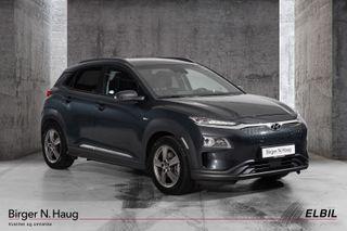 Hyundai Kona 64 kWt Teknikk - Skinn - Nybilgaranti!  2019, 18708 km, kr 359900,-