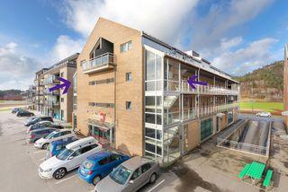 Tangvall - Pen og romslig 3-roms leilighet med overbygget balkong - Garasjeplass og heis i bygget - Ingen dokumentavgift