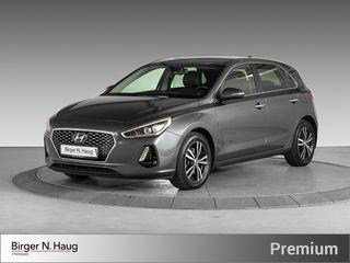 Hyundai i30 1,4 T-GDi Teknikkpakke aut TEKNIKKPAKKE/RYGGEKAMERA  2017, 26500 km, kr 239900,-
