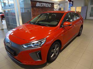 Hyundai Ioniq EV 120 Hk Teknikk Skinn Soltak Navi Kamera Varmepumpe  2017, 32000 km, kr 225000,-